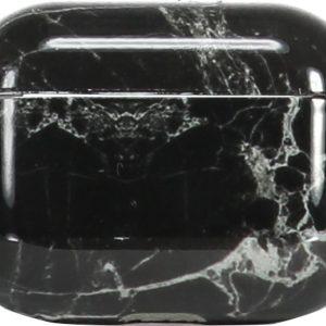 AYS Elektronica - Airpods pro hoesje - Hard case cover - Zwart - Airpods pro - Airpods Pro Marmer Case - Zwart