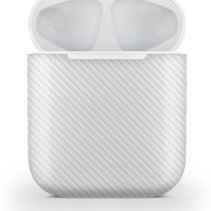 AirPods 1nd Generation skin carbon white