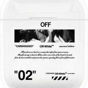 AirPods Case Cover - Beschermhoes - Off-White - Geschikt voor Apple AirPods 1 & 19