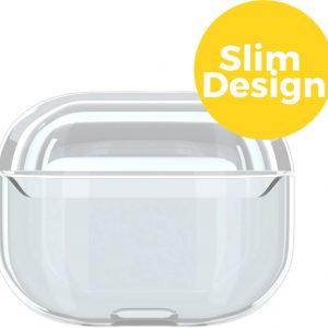 Apple Airpods Pro Siliconen Case Hoesje - Beschermhoes - Transparant