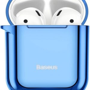 Baseus Shiny AirPods 1 / 2 Case - Blauw