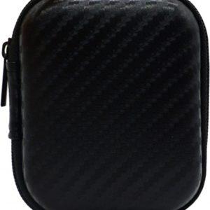 Beschermhoes Apple Airpods / Earpods- Protector - Case Cover Hoes - Zwart