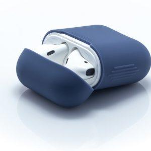 Case voor Apple AirPods - Blauw - Siliconen