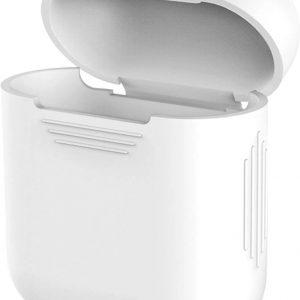 Hoesje geschikt voor Apple Airpods - Wit