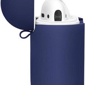 JAP - Silicone case cover met straps voor Apple Airpods en JAP Sounds - Blauw