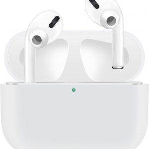 KELERINO. Siliconen Case voor Apple AirPods Pro - Hoesje - Wit