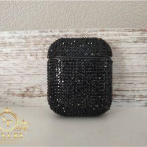 Luxury Black Diamond Case | Geschikt voor Airpods