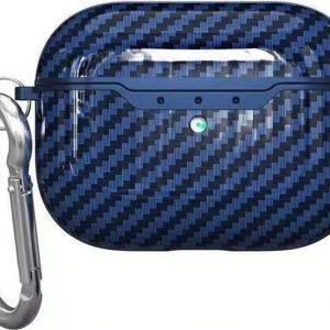 Mobigear Carbon Fiber Blauw voor Apple AirPods Pro