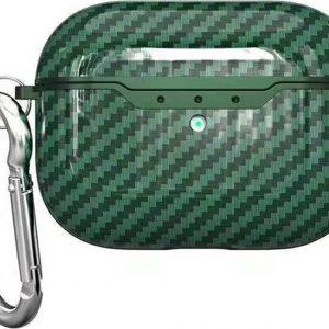 Mobigear Carbon Fiber Groen voor Apple AirPods Pro