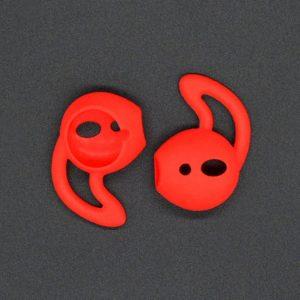 Mobigear Earbuds met Earhook Rood voor Apple AirPods