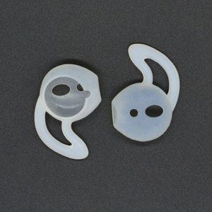 Mobigear Earbuds met Earhook Transparant voor Apple AirPods