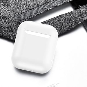 Mobigear Glory Siliconen Cover Wit voor Apple AirPods