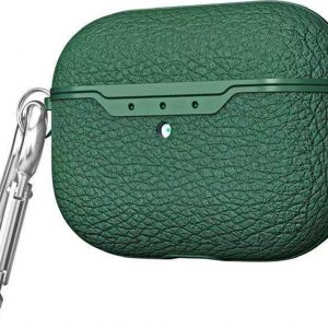 Mobigear Litchi Texture Groen voor Apple AirPods PRO