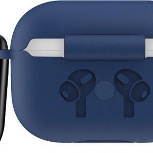 Mobigear Siliconen Cover Blauw voor Apple AirPods