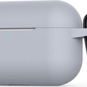 Mobigear Siliconen Cover Grijs voor Apple AirPods Pro