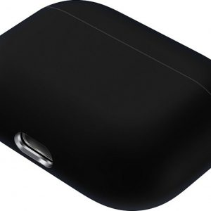 Mobigear Siliconen Cover Zwart voor Apple AirPods pro