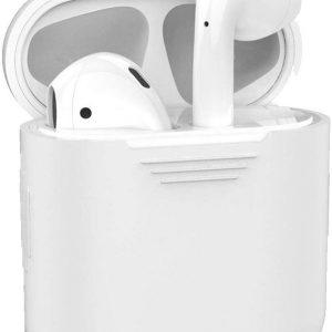 Siliconen Bescherm Hoesje Cover Voor Apple AirPods Case - Transparant