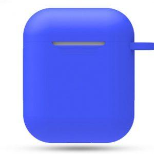 Siliconen Hoesje / Case voor Airpods 1 en 2 - Marineblauw
