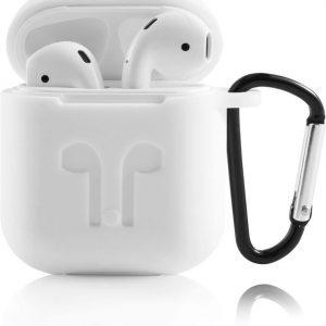 Siliconen hoesje voor Apple AirPods - Wit
