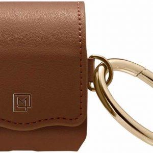 Spigen La Manon Leather Case geschikt voor AirPods - Bruin
