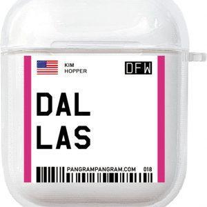 AirPods Case Cover City - Beschermhoes - Dallas - Geschikt voor Apple AirPods 1 & 2 - gerrey.