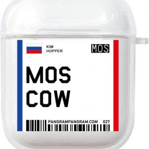 AirPods Case Cover City - Beschermhoes - Moskou - Geschikt voor Apple AirPods 1 & 2 - gerrey.
