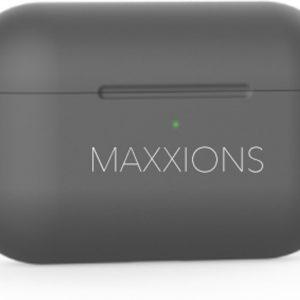 Maxxions® Siliconen Case Cover Hoesje geschikt voor AirPods Pro - Grijs