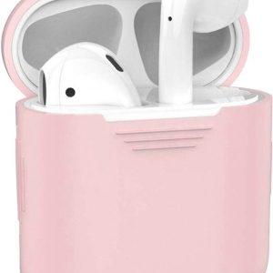 Air pod case voor Apple roze - Earpods - Draadloze Oortjes Case Airpods Case - Airpods hoesje - Apple case - Apple hoesje Airpods 1 en 2