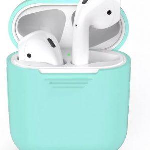 Air pod case voor Apple van Versteeg® -Groen - Earpods - Draadloze Oortjes Case- Airpods Case - Airpods hoesje - Apple case - Apple hoesje