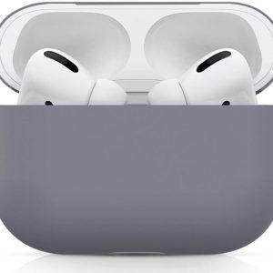 Apple AirPods Pro Ultradun Siliconen Hoesje Blauw/Grijs
