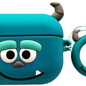 Cartoon Silicone Case voor Apple Airpods Pro - harig monster