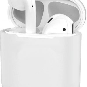 Hoes voor Apple AirPods Hoesje Case Siliconen Ultra Dun - Transparant