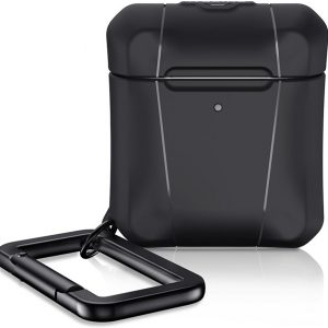 ITSkins Level 2 Spectrum Solid cover - black - for Apple Airpod