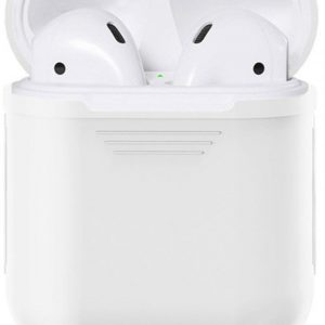Siliconen Bescherm Hoesje Cover Transparant voor Apple AirPods 1+2 Case