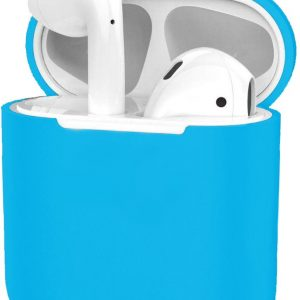 Siliconen Hoes voor Apple AirPods 2 Case Ultra Dun Hoes - Licht Blauw