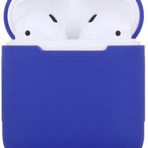 Siliconen case   geschikt voor airpods   blauw