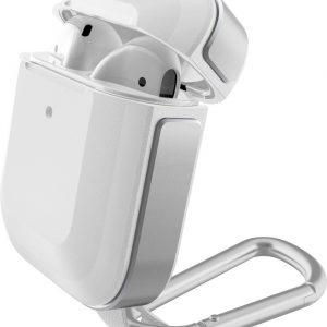 X-Doria Defense Trek Apple AirPods Hoesje Zilver