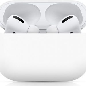 Apple AirPods Pro Ultradun Siliconen Hoesje Wit