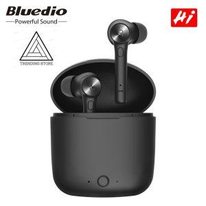 Bluedio® HI - Draadloze Oordopjes - Earbuds - In ear oortjes - Via bluetooth - Zwart