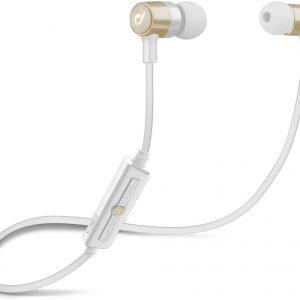 Cellularline LABTAUINEARH hoofdtelefoon/headset In-ear Goud, Wit