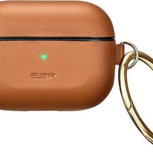 ESR Metro Leather AirPods Pro Case - Bruin