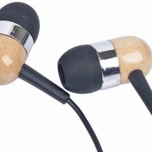 Gembird MP3-EP08 headphones/headset Hoofdtelefoons In-ear Zwart