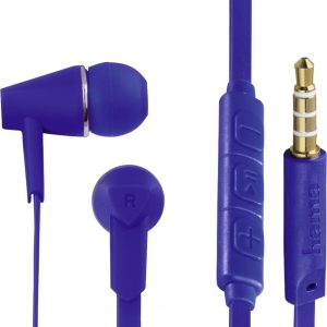 """""""Hama In-ear-stereo-headset """"""""Joy"""""""", blauw"""""""