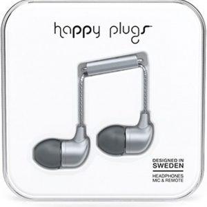 Happy Plugs Hoofdtelefoon in-ear space grey
