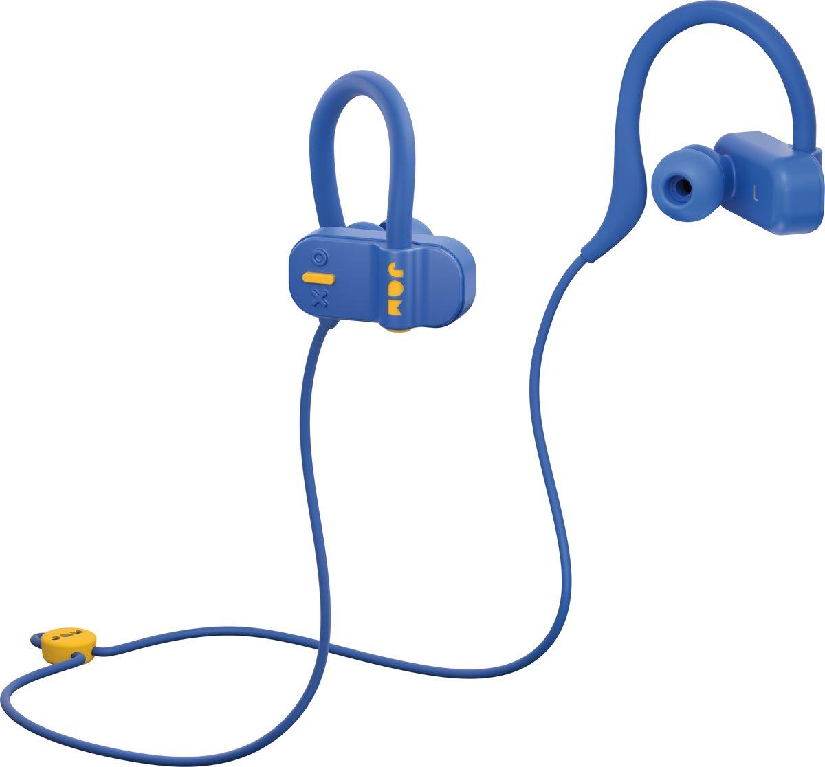 JAM Live Fast - Bluetooth oordopjes - bluetooth oordopjes draadloos - bluetooth oordopjes sport - blauw