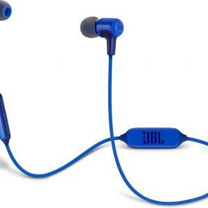 JBL E25BT Blauw - Draadloze in-ear oordopjes