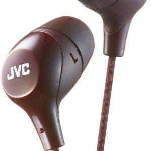 JVC HA-FX38-T JVC Marshmallow In-Ear Stereo Headphone Brown
