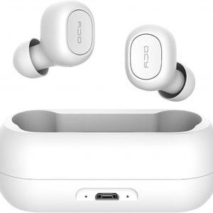 QCY T1C Volledig draadloos In-Ear oordopjes (WIT) - Bluetooth 5.0 - Meer dan 20 uur gebrui