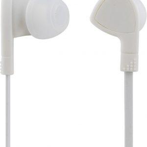 STREETZ HL-331, In-ear Oordopjes met microfoon, 3,5 mm connector, antwoordknop, 1,2m kabel, wit