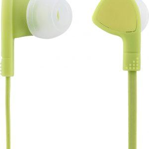 STREETZ HL-355 In-ear oordopjes - Microfoon & Control button - limoengroen